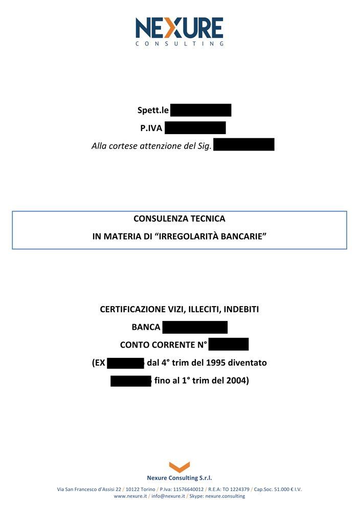 esempio certificazione usura pagina 1