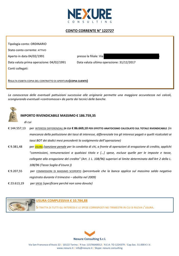 esempio certificazione usura pagina 2